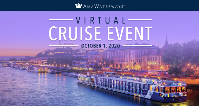 Virtual Cruise Event with AmaWaterways